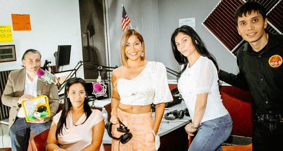 'Mujeres Empresarias Exitosas' de Miami Fashion Spotlight TV en 'La Nueva 104.9 FM' en Port St. Lucie