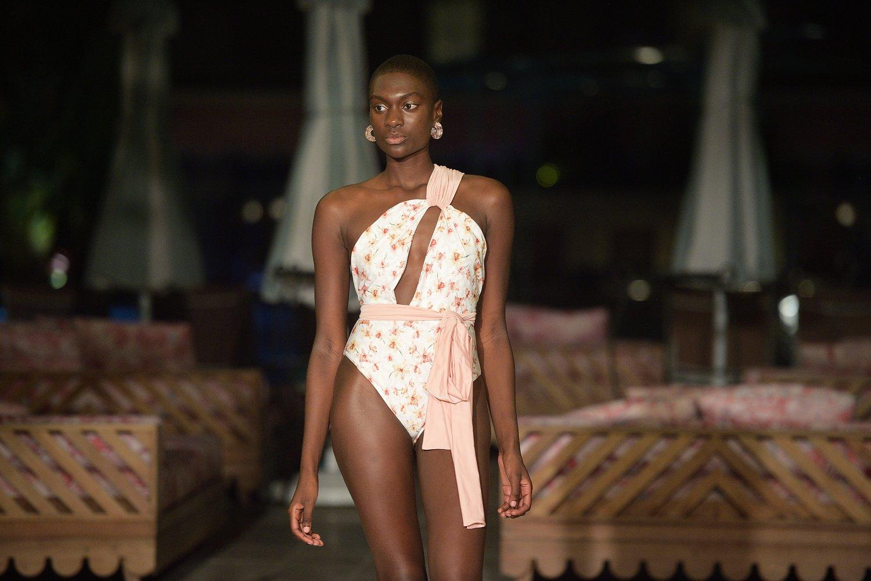 Sinesia Karol at PARAISO Miami Beach Swim Week 2021. Photo Credit: Courtesy of Tara INK.