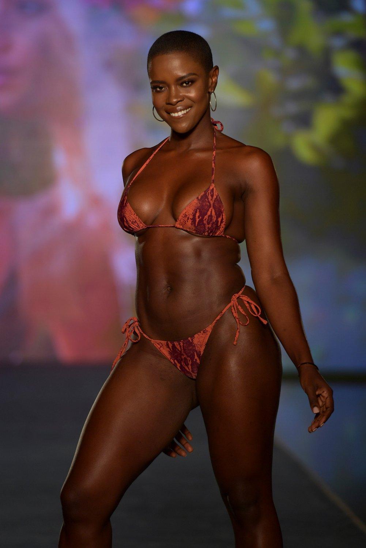 Sports Illustrated Swimsuit at PARAISO Miami Beach Swim Week 2021. Photo Credit: Courtesy of Tara INK.