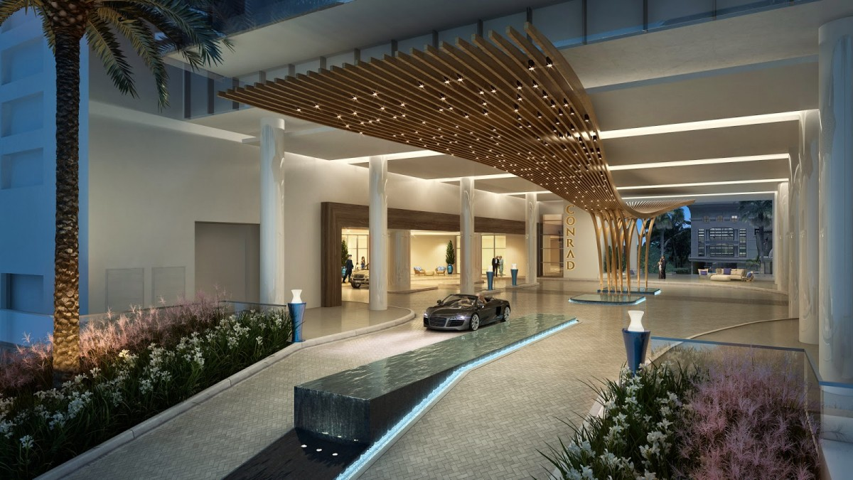 Cervera Real Estate Leads Sales and Marketing for the Conrad Fort Laudardale Beach Residences