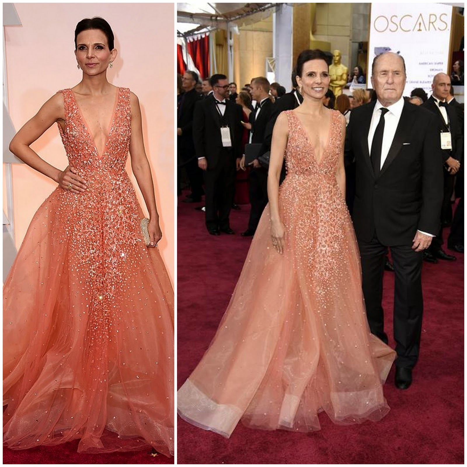 Luciana Duvall Glows in Jad Ghandour at the Oscars