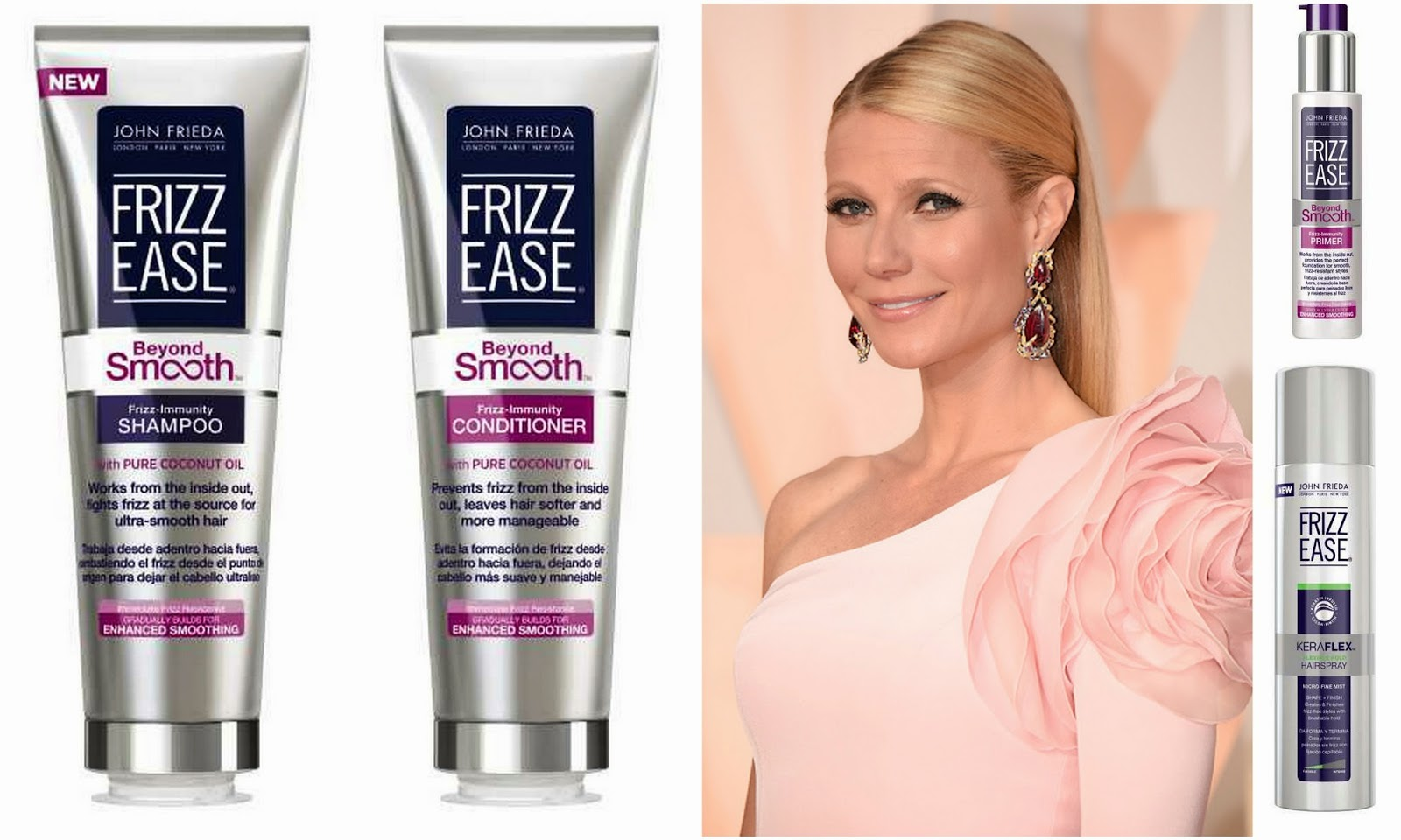 Gwyneth Paltrow: Get the Look with John Frieda Hair Care