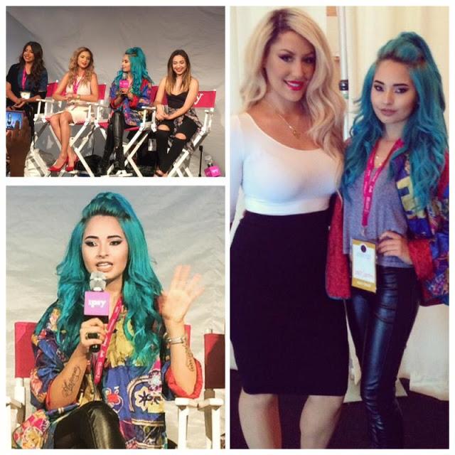 Digital celebrity and makeup trendsetter Laura Sanchez formed part of Generation Beauty