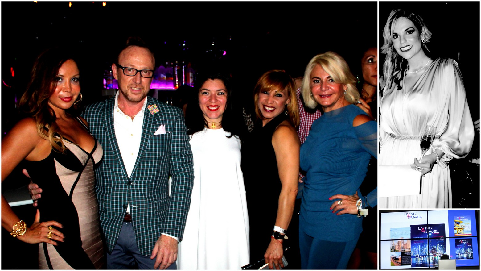 Living & Travel Magazine Celebrates First Anniversary with a Modern Glam Soiree