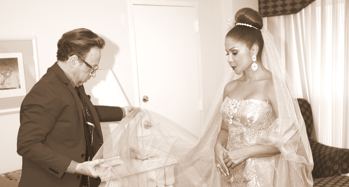 Bridal fashion:  Samy Gicherman, what does it take to be 'the designer of the bride'?