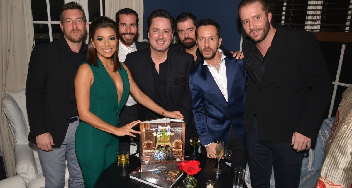 Eva Longoria Celebrated Launch of Ricardo Barroso Interiors during Art Basel 2015 in Miami