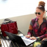 My 305 Style: The colorful fashion of Viviana Gabeiras & Dooney & Bourke
