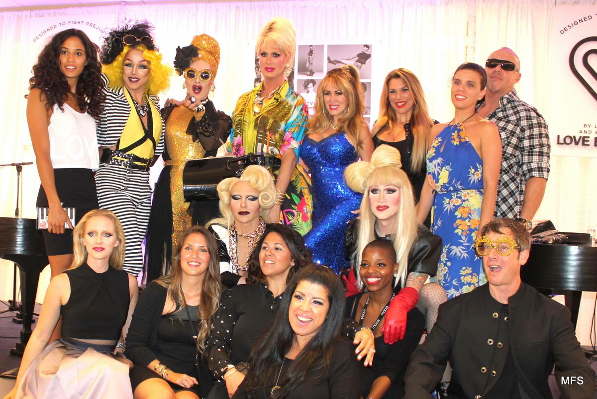 Macy's Aventura Mall Kicks off Love Bravery Collection by Elton John & Lady Gaga