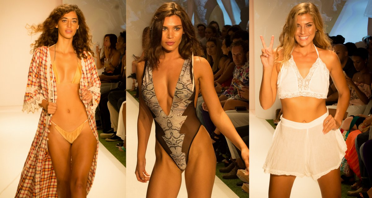 Swim Miami: Beach Freedom and Sirènes De Soleil Take Over the Lycra Swim Salon