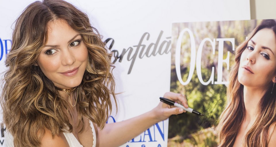 Katharine McPhee Celebrated Her Ocean Drive Magazine Cover with Live Performance