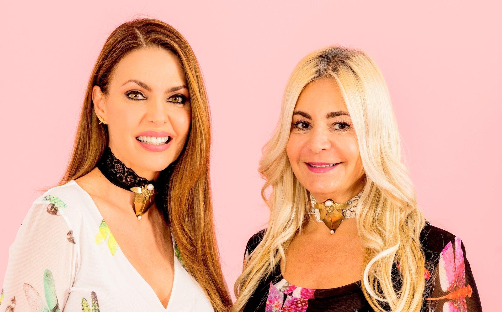 Viviana Gabeiras Launches a Dragonfly Inspired Collection for Barbara Palacios (Miss Universe 1986)