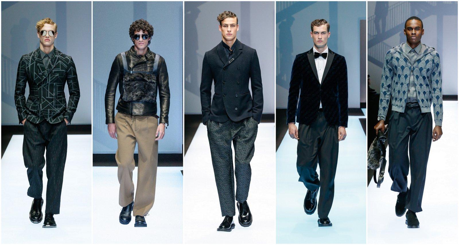 Milan Fashion Week Fall-Winter 2017-2018: Giorgio Armani Menswear