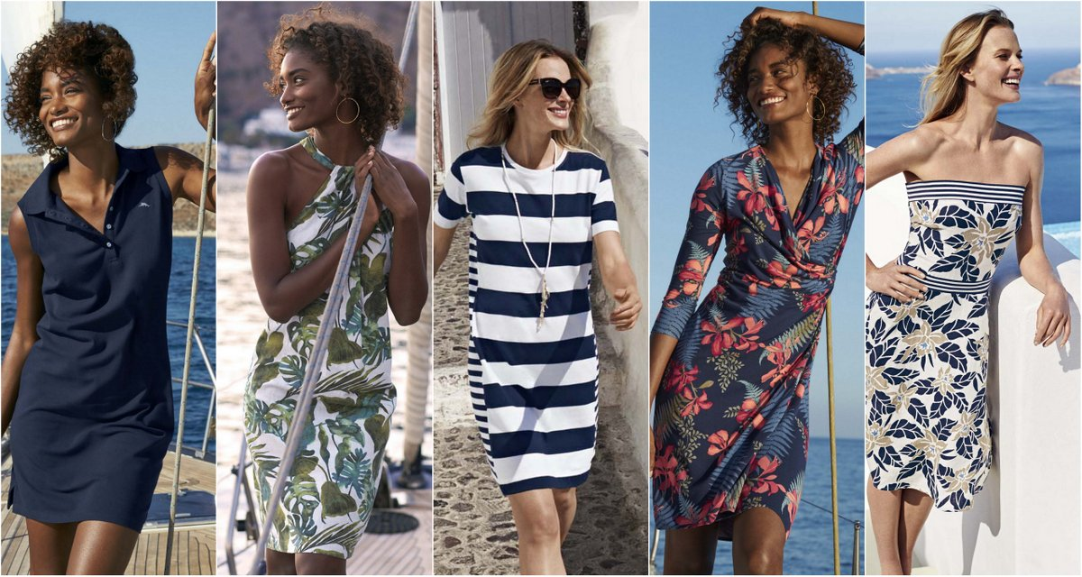 Dresses for Spring: Tommy Bahama Welcomes the Spring 2017 with the Dress
