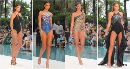 Gottex Swimwear Takes over SwimMiami with Futuristic Black and Sexy Styles