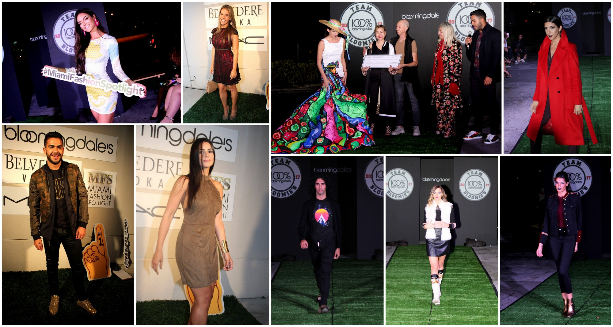 Bloomingdale's Aventura kicked off its 20th Anniversary Celebration with their annual Fall Fashion Show and the first ever Global Fashion Design Competition