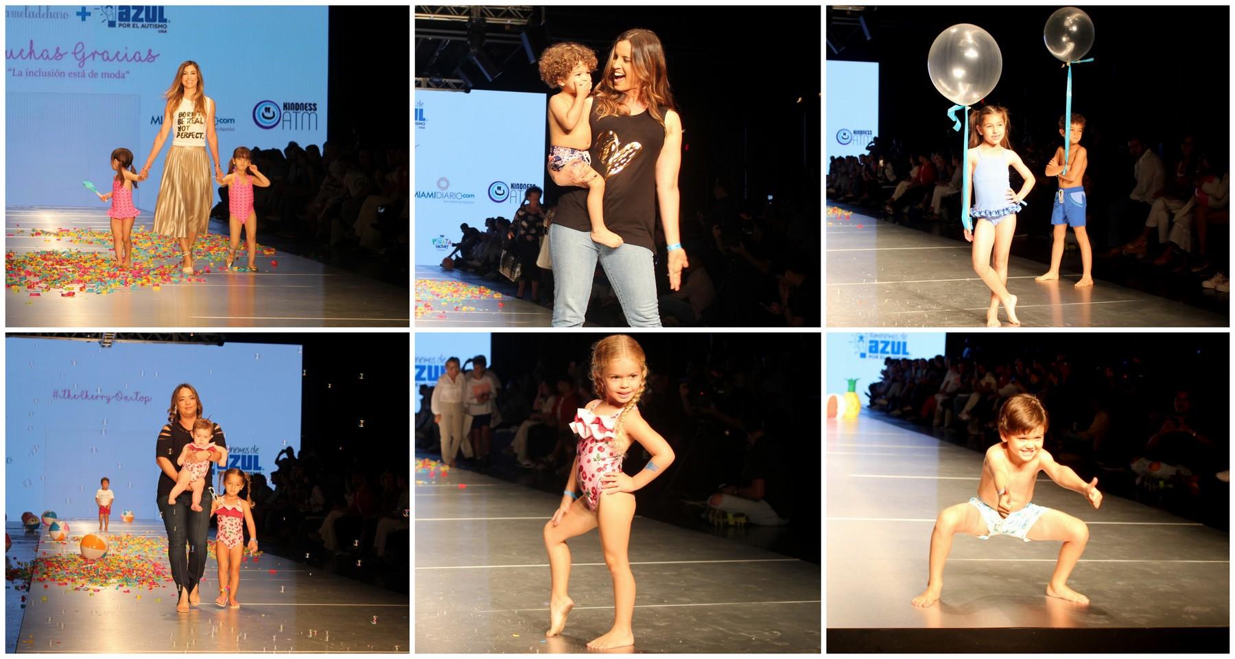 Hijos de Celebridades Hispanas Caminaron La Pasarela del Miami Fashion Week Con 'La Inclusión está de Moda' de Pamela de Haro