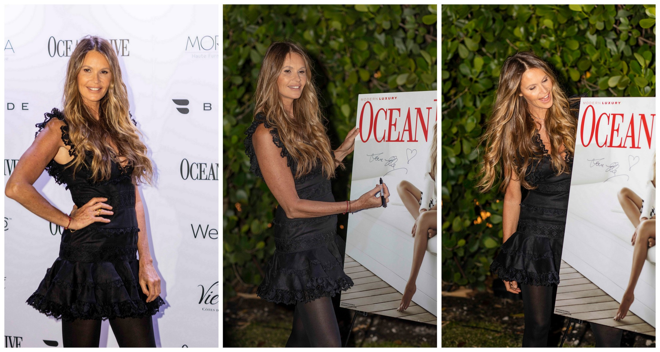 Ocean Drive Magazine celebrates its first issue of 2019 with a VIP event hosted by its cover star Elle Macpherson