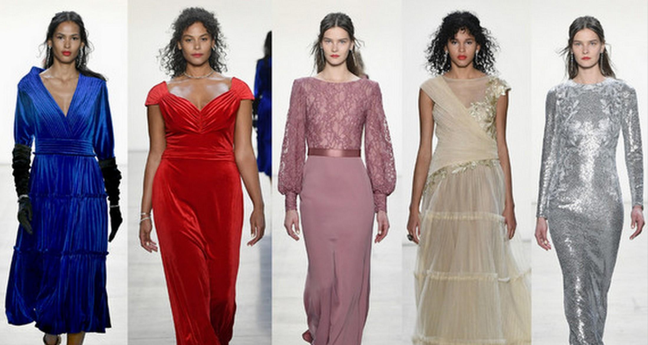 Pantone Color Trend Report New York Fashion Week Autumn/Winter 2019/2020