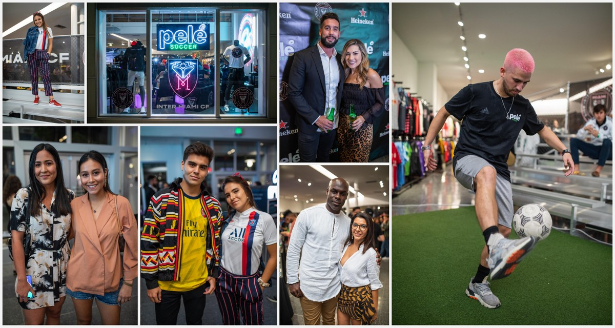 Pelé Soccer Celebrated Grand Opening at Lincoln Road