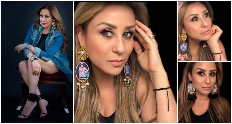 Maribel Magaña impone sus diseños de accesorios en USA