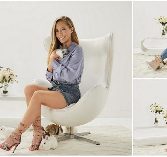 Kendra Wilkinson and her ShoeDazzle New Spring Collection