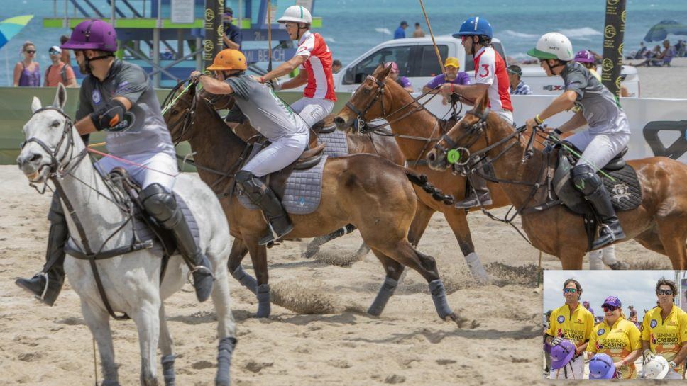 World Polo League Beach Polo en South Beach