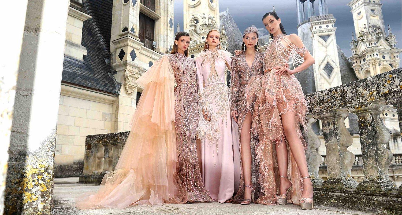 Paris Haute Couture Fashion Week: Ziad Nakad Fall-Winter 2021 Collection Renaissance